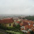 プラハ城からのながめ
